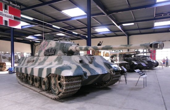 Musee des Blindes: Tiger 2 - Awesome!