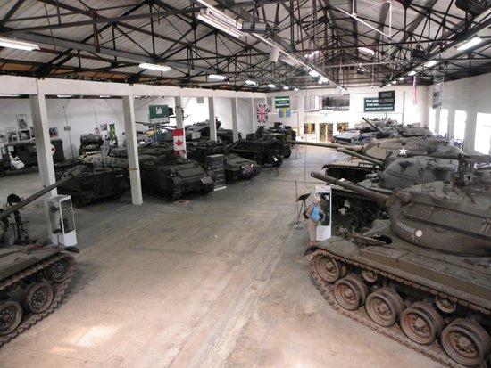Musée des blindés : More recent tanks