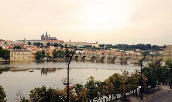 Hotel Leonardo Prague: View from our window