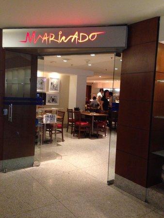 Hotel Mar Palace Copacabana: Entrada do restaurante
