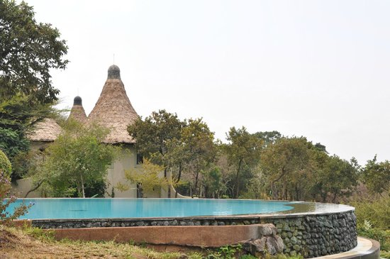 Lake Manyara Serena Lodge : poolside