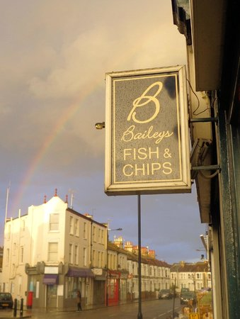 Just another day at Baileys Fish and Chips