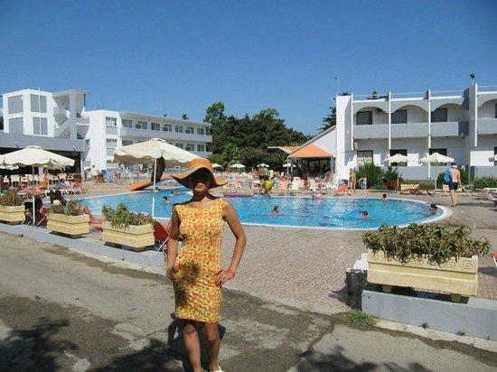 Evi Hotel Rhodes: Бассейн