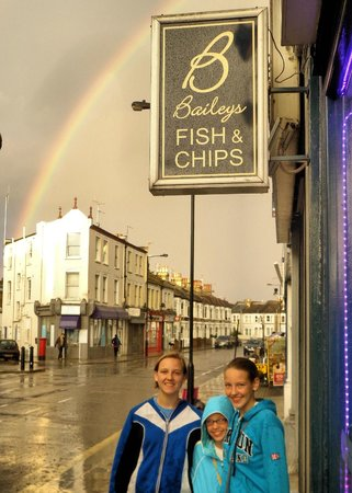 Baileys Fish and Chips: English magic