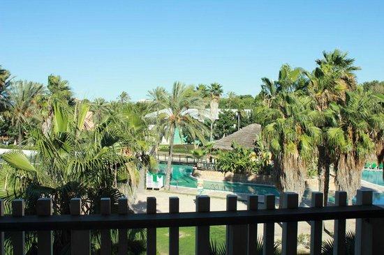 PortAventura Hotel Caribe : Vue de notre chambre