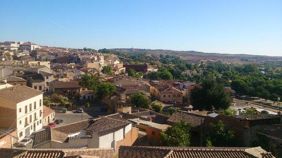 Hotel Medina de Toledo: Uitzicht bij het ontbijt