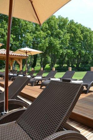 Moulin de Vernegues Chateaux Hotels Les collectionneurs: espace solarium
