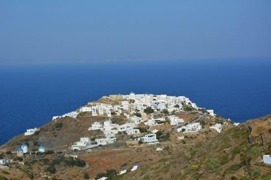 Gerofinikas : vue de la terrasse