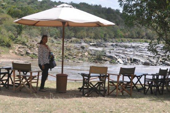 Mara Crossings Camp: River Mara