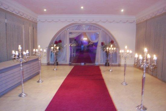 Soviva Resort : wedding hall entrance