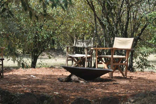 Mara Crossings Camp: Campfire