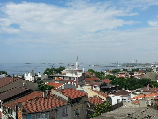 Erguvan Hotel : terrazza colazione