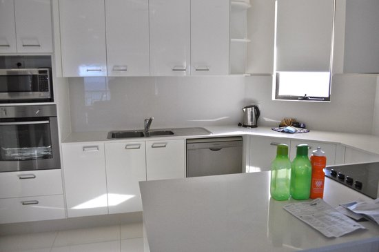 Paradise Centre Apartments: The kitchen in the room