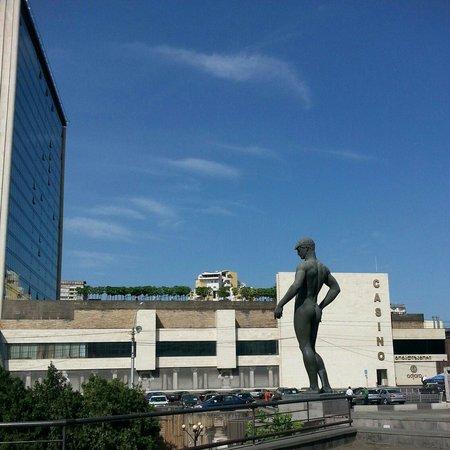 Holiday Inn Tbilisi back side
