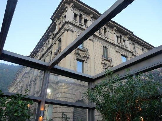 Bar delle Terme: Vue de notre table