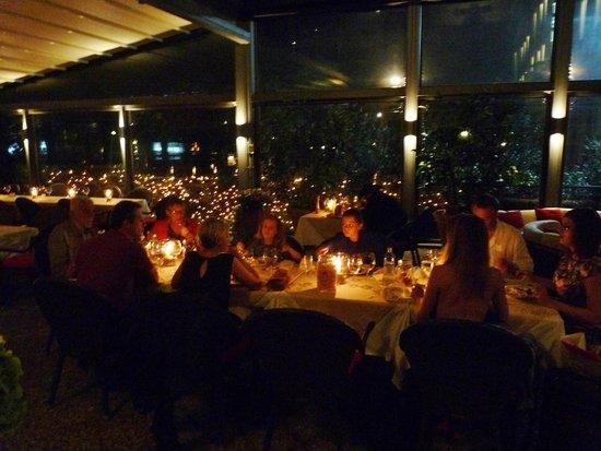 Bar delle Terme: lumière tamisée