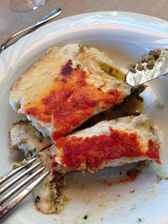 Hotel La Montanina : cibo squisito
