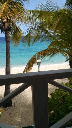Galley Bay Resort: View from our balcony