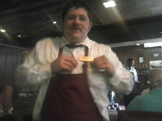 Cattlemen's Steakhouse: Our server Sharp