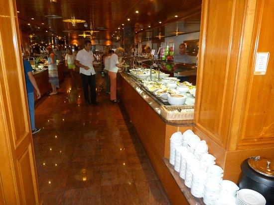 Hotel Riu Palace Bonanza Playa : Restaurant