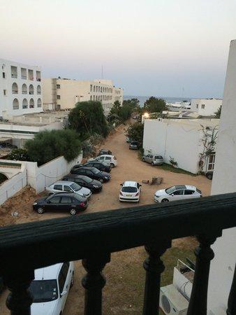 Hotel El Fell : La vista dalla camera, super rumorosa perché ci sono i generatori che vanno 24h su 24, e non asp