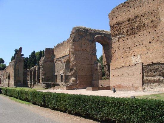 Thermes de Caracalla : Thermes de Carracalla