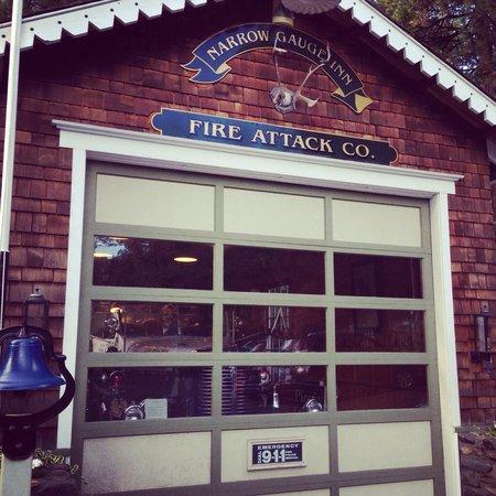 Narrow Gauge Inn : Old firehouse
