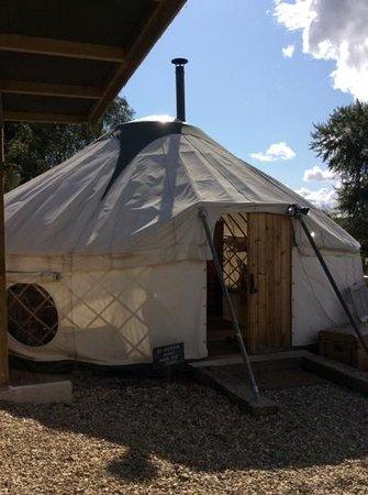 Love2Yurt: our yurt