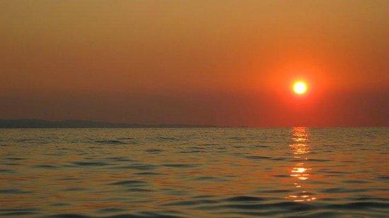 Toroni Blue Sea Hotel & Spa: Toroni sunset
