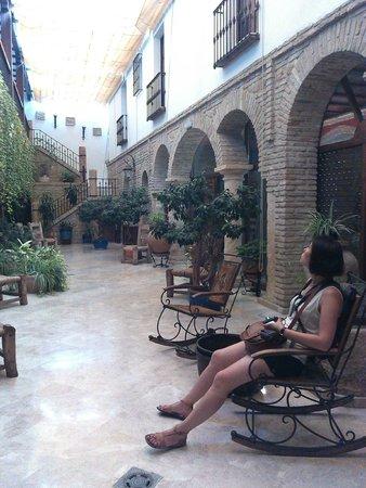Hacienda Posada de Vallina: Le patio