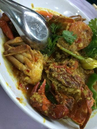 Minn Lan: Soft shell crab in lemongrass chilli sauce