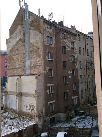D'Angelo Hotel: Вид из окна нашего номера