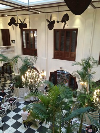 The Oyster Box: The Palm Court
