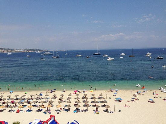 Hotel Son Matias Beach: View from 7th floor room