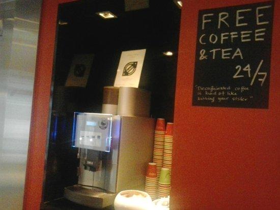 Comfort Hotel Xpress Youngstorget : caffè e the gratuiti 24/7