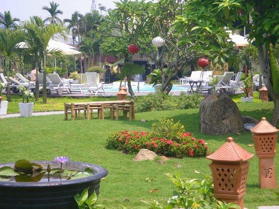 Phu Thinh Boutique Resort & Spa: autre vue du jardin