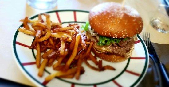 Le double Victoria burger