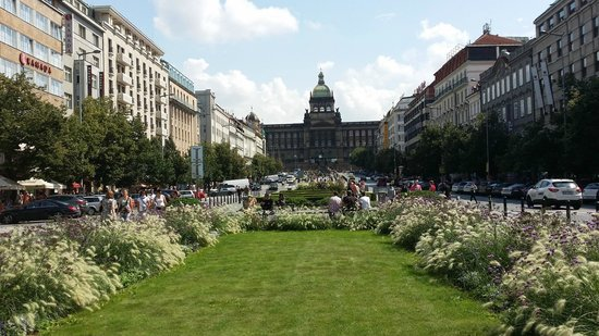 Vaclavske namEsti: Wenceslas Square