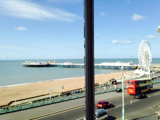 Drakes Hotel Brighton: View from ying yang double