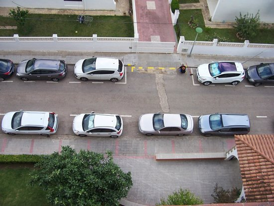 Ohtels San Salvador: Vu du balcon de la chambre