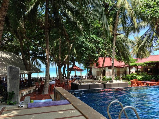 Palita Lodge: Pool area