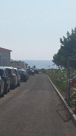 Residence Acqua Linda: La vue sur la mer