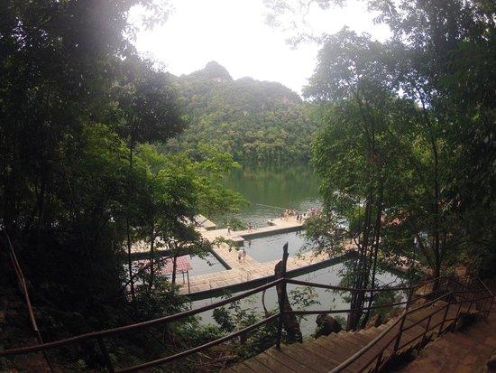Naam: An island where you can swim in fresh water