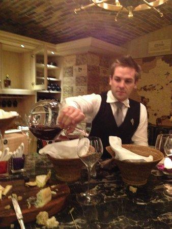 Constance Prince Maurice: La cave à vin 1
