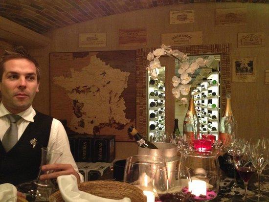 Constance Prince Maurice: La cave à vin 2