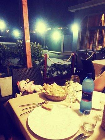 Sagapo Ristorante: il tavolo
