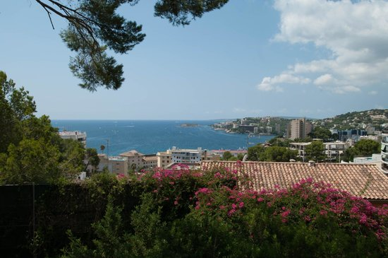 Pilar and Joan Miro Foundation in Mallorca: vue depuis le jardin