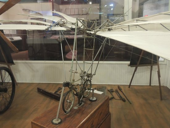 "Cradle of Aviation Museum: Model of an early ""airplane"""