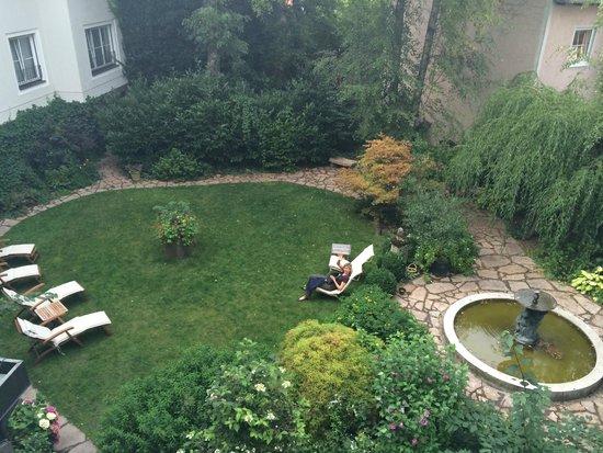 Hotel&Villa Auersperg: Vue depuis la chambre 131