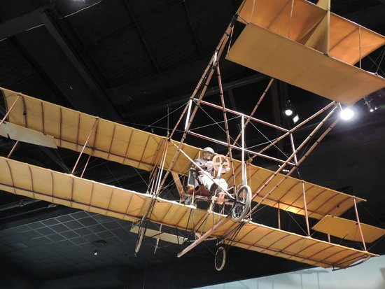 """Cradle of Aviation Museum: Model of an early """"airplane"""""""